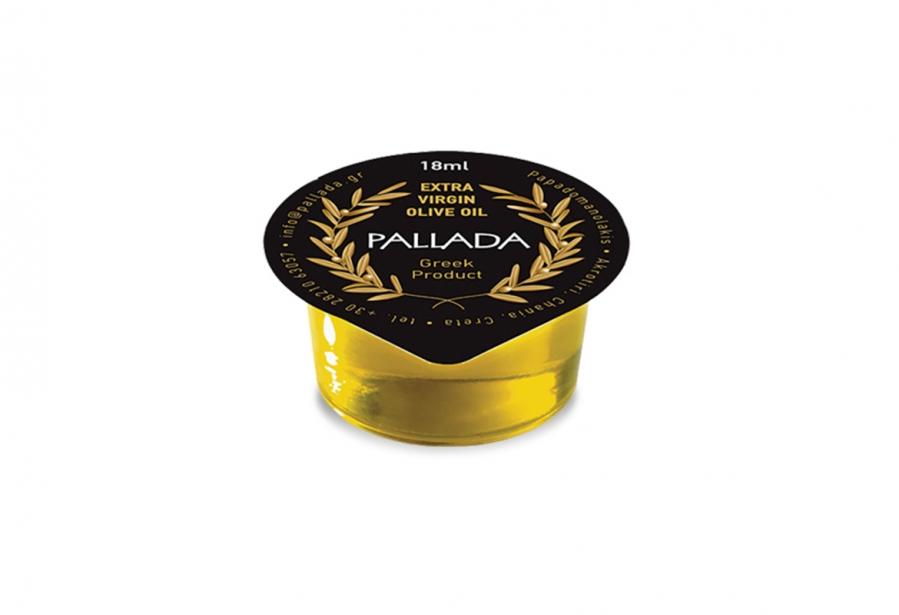 Single serving package olive oil