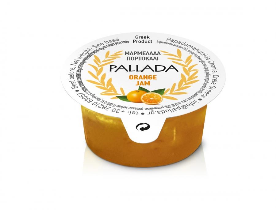 Μαρμελάδα πορτοκάλι σε ατομική συσκευασία 15,20 και 30g